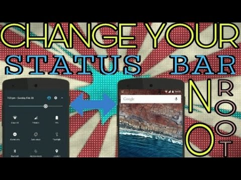 Customise Your Android & Change The Status Bar Of Your Android [No Root]