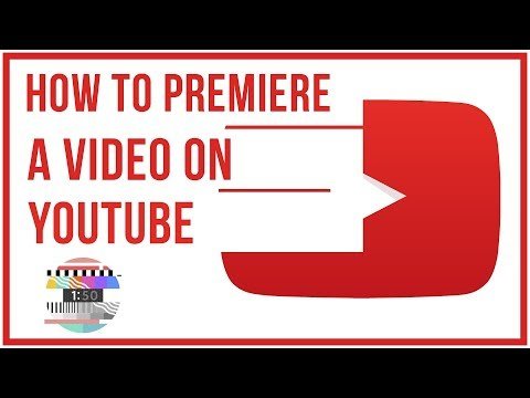 How To Premiere A Video On YouTube - Full Tutorial