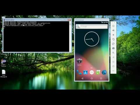 How to send SMS to Android emulator using command prompt