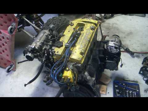 1992 Honda Accord Turbo H22a Project Series - Engine & Body