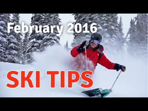 Heli-Ski Tips & Techniques - Deep Powder Skiing