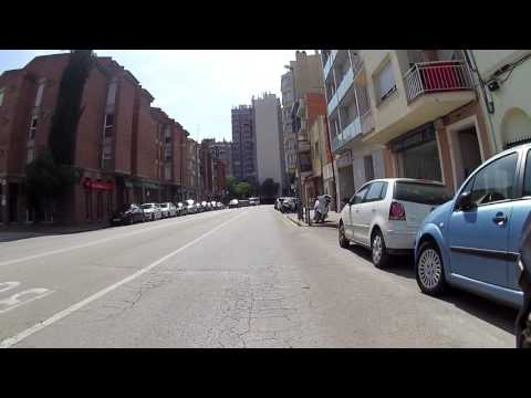 Through part of Girona city centre