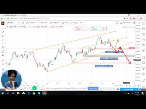 USD/CAD forecast and market overview for August 6 - 10, 2018