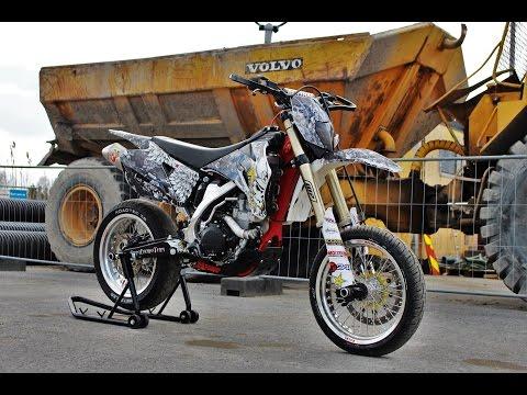 Yamaha WR450 Supermoto Project!