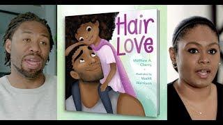 Hair Love | Meet author Matthew Cherry & illustrator Vashti Harrison