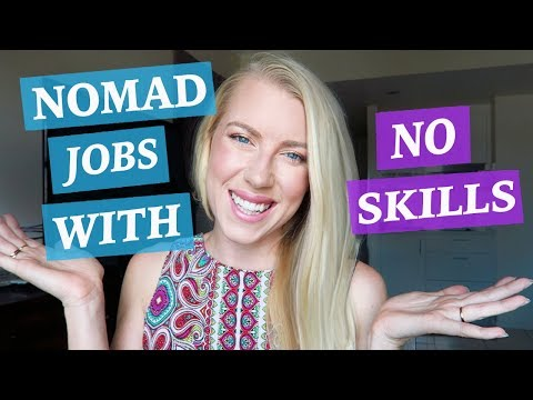 WHAT IF YOU HAVE NO SKILLS? ♡ DIGITAL NOMAD JOB IDEAS