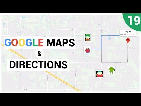 Calculating Directions with Google Directions API