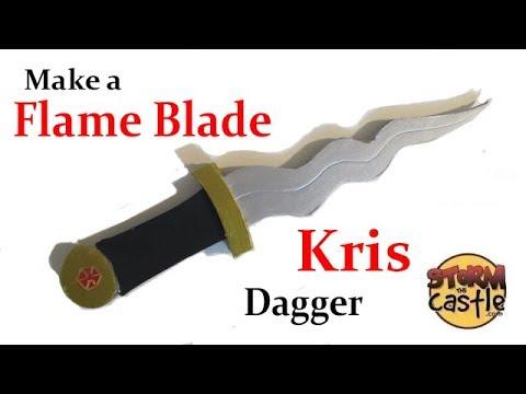 Make a Flame Blade Dagger