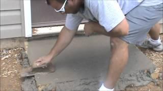 Concrete Walkways Around Building Perimeter Can Protect Building