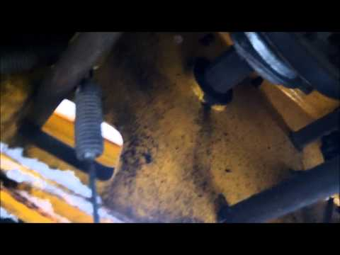 Cub cadet snow blower Drive cable replacement