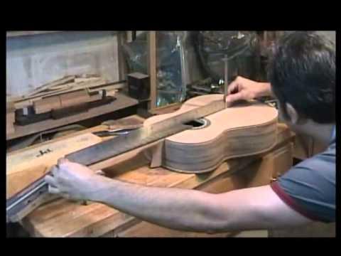 Making classic and flamenco guitars by Kambiz Sinichi