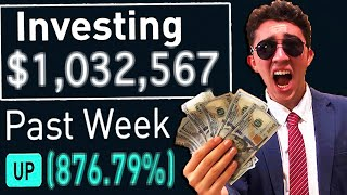 I Gambled $10,000 In The Stock Market For 30 Days and Made $_____