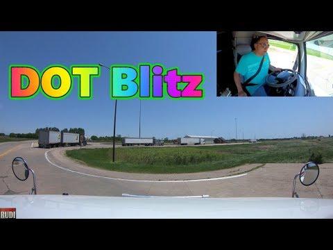 DOT Blitz Trucker Rudi 06/06/18 Vlog#1447