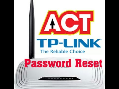 How to change Tp-Link & Act wifi Router Password