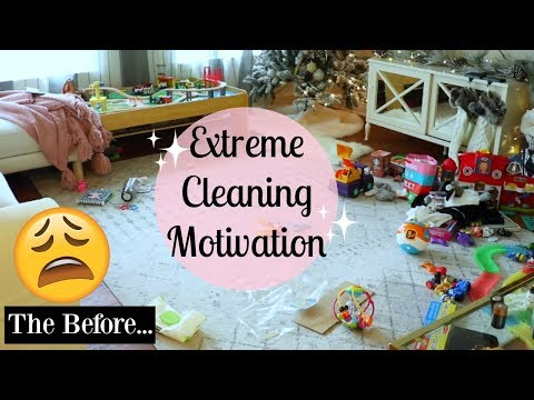 CLEAN WITH ME 2017 AFTER CHRISTMAS CLEAN UP   EXTREME CLEANING MOTIVATION   Tara Henderson