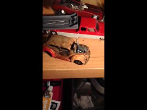 how to create REAL RUST with household objects for diecast