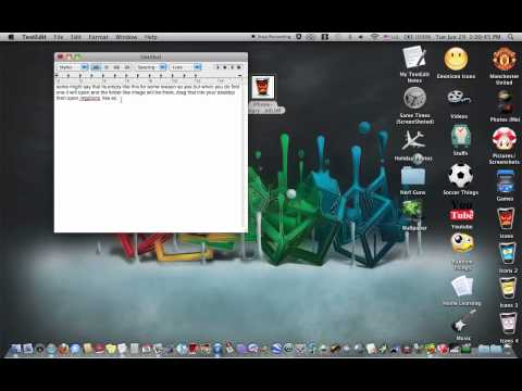 How to change your Folder Icon (Mac OS X)