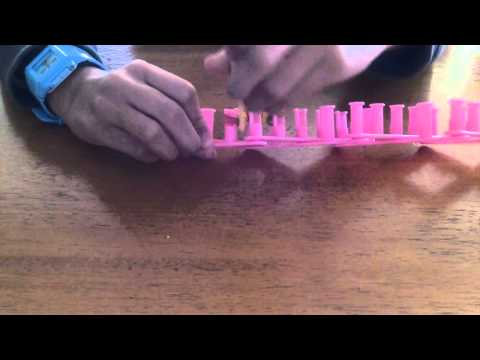 Expression Loom- How to make a Triple Fishtail