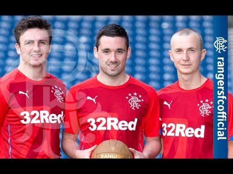 Rangers Launch Puma Third Kit - sponsored by 32Red