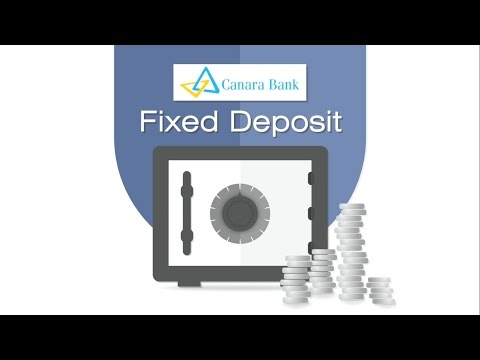Canara Bank Fixed Deposit