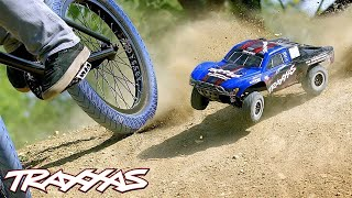 RC vs. BMX Freestyle | Traxxas Slash 4X4