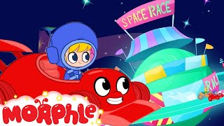 A Race In Space! UFO and Morphle - My Magic Pet Morphle | Cartoons For Kids | Morphle TV