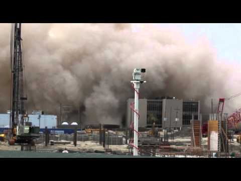 Raw Video: Former New Orleans Hotel Imploded