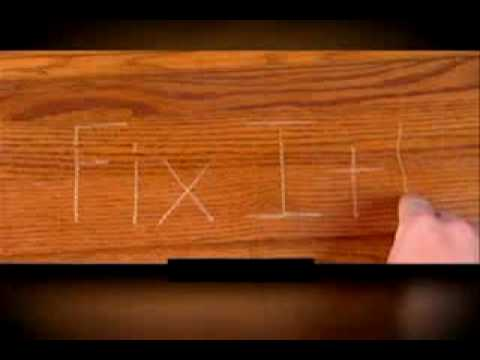 Fix It Wood Commercial - As Seen on TV Chat Video