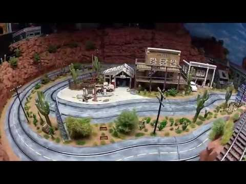 Slottrack 1:32 Blade Rock County Carrera Slotcar Slot Car Track Railroad Gauge