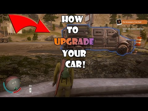 State of Decay 2 - How to get Vehicle Mods/Kits *EASY*