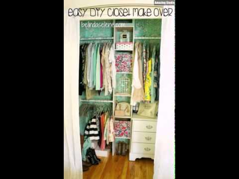 24 Easy DIY Closet Make Over