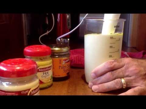 Making Healthy Whole Egg Mayonnaise