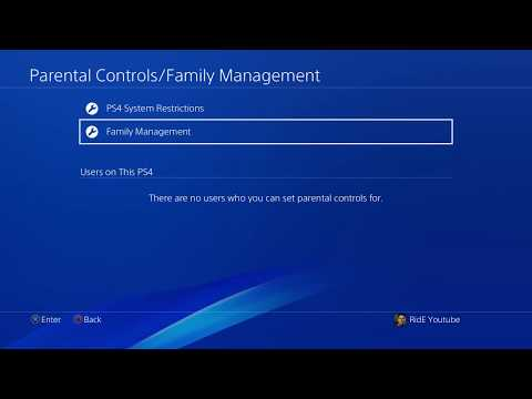 Update 5.0 How To Delete Family Members/Sub-Accounts off Your PS4 2017