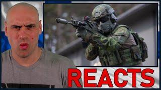 BATTLEFIELD (Taistelukenttä) 2020 - How FINLAND Would React To War (Royal Marine Reacts)