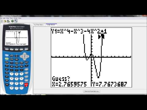 Lesson 6.4 - Finding Zeros, Relative Min, Relative Max (Graphing Calculator - Guided Example 1)
