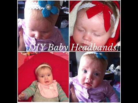 DIY Baby Headbands - How to make your own!