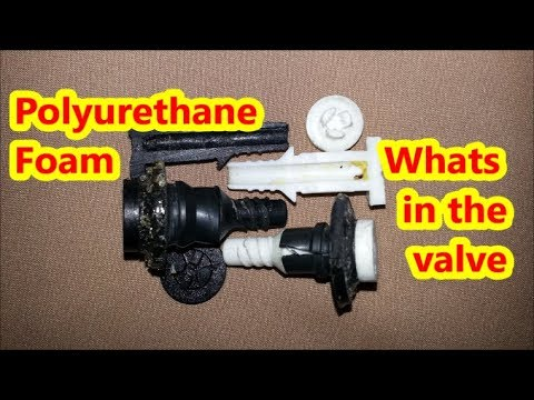 Polyurethane Foam - Whats in the valve