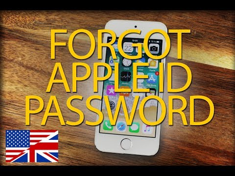 If you forgot your Apple ID password | Step by Step (2018)