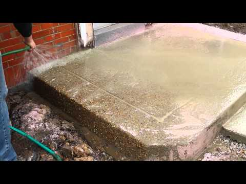 How to expose aggregate concrete. Contractors Stl