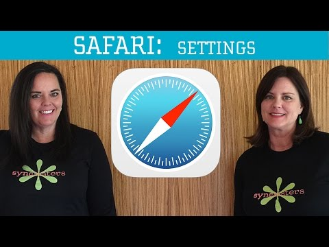 iPhone / iPad Safari - Settings