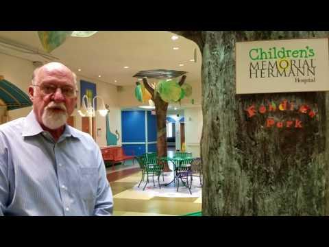Donation to Children's Memorial Hermann Hospital in Houston