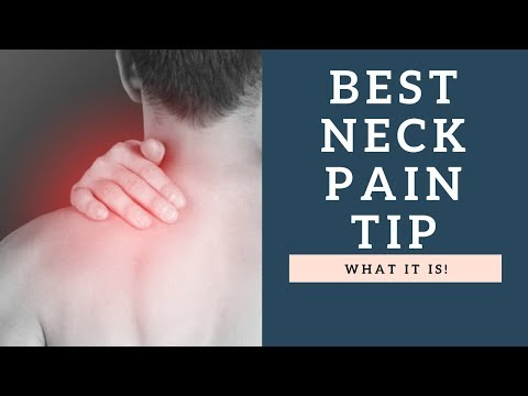 Fix Neck Pain & Aches For GOOD With This One Simple Quick Tip!