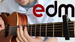 Electronic Dance Music on Guitar (6 Songs) | FINGERSTYLE