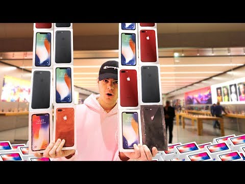 I Bought an iPhone From Every Apple Store | David Vlas