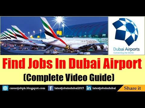 How To Find Jobs in Dubai Airport 2018