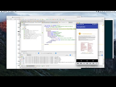 Open PDF files with MuPDF for Android