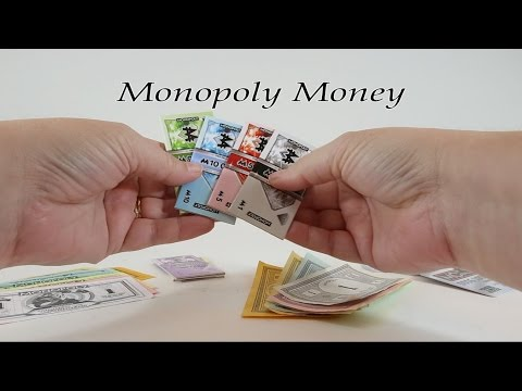 Episode #13 - MONOPOLIA - Monopoly Money Spotlight