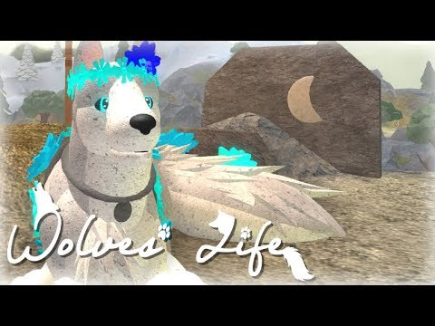 Wolves Life 3 / Roblox / How To Find The Galaxy Flower