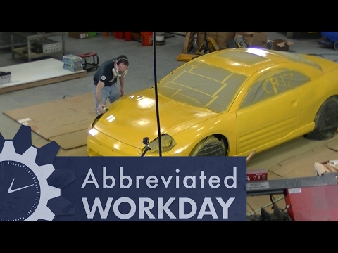 Painting an Entire Car with Spray Cans: Abbreviated Workday #53