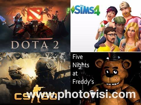 Tujuh (7) Game Favorit Youtuber dan Penonton Youtube